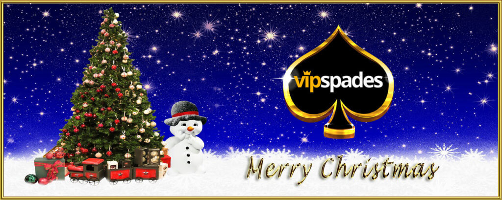 VIP Spades Wishes you a Very Merry Christmas | VIP Spades