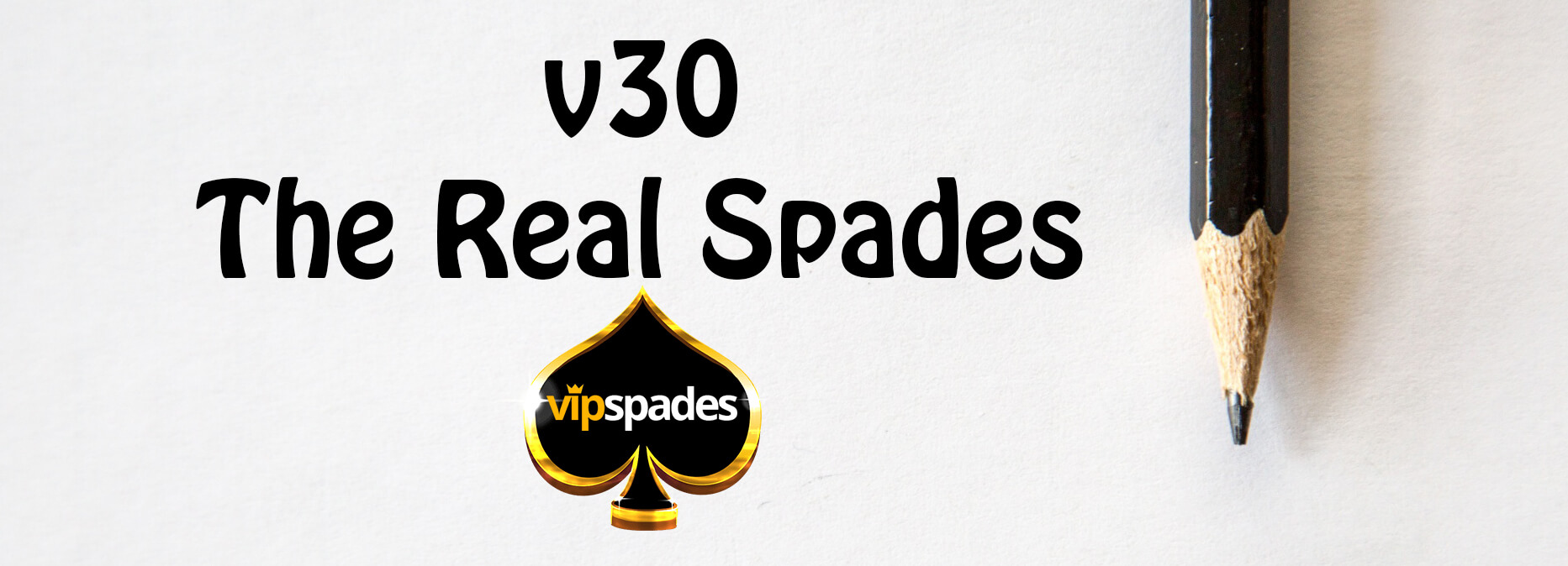 VIP Spades v30 Banner