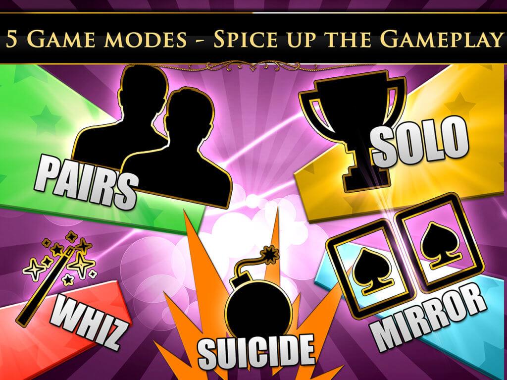 VIP spades game modes