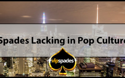 Spades Lacking in Pop Culture