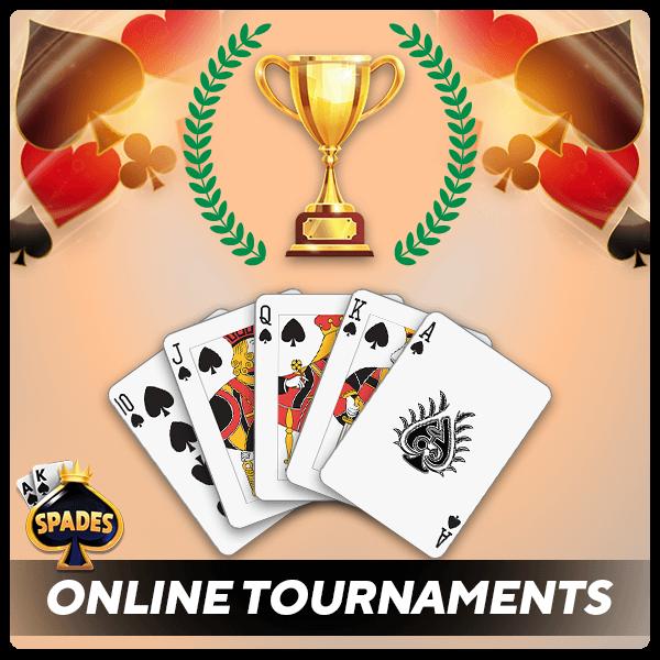 online card tournaments
