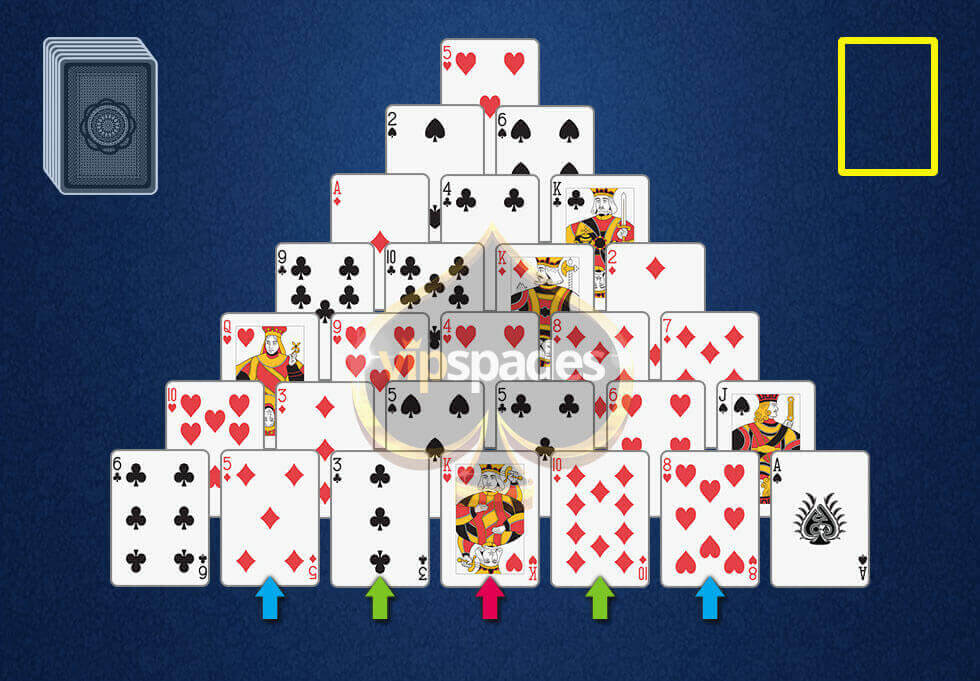 Pyramid Solitaire rules