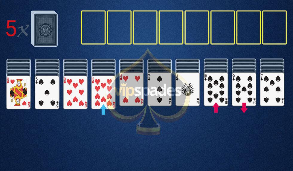 One Player Card Games | VIP Spades