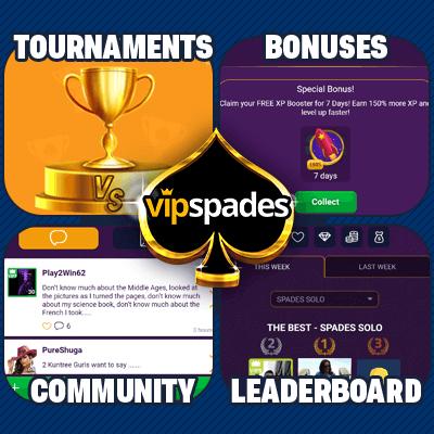 spades social platform